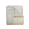 allen + roth 50-in W x 60-in L Ivory Rectangular Throw Cover