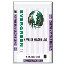 Evergreen 3 cu ft Medium Brown Blend Mulch Cypress Blend Mulch