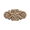 EverTrue 2-3/4&#034; Raw Whitewood Ornament