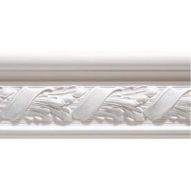 15/16-in x 3-1/4-in x 8-ft Interior Primed Mixed Chair Rail Moulding (Pattern 08213)