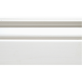 9/16-in x 4-1/4-in x 8-ft Primed Mixed Base Moulding (Pattern 11704)