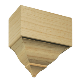 EverTrue 2-5/8-in x 5-1/2-in x 5-5/8-in Unfinished Pine Mid Crown Block