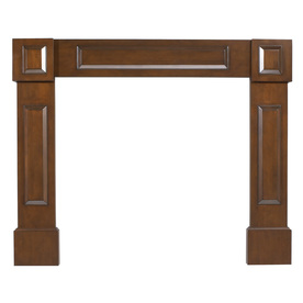 allen + roth 42-in x 53-1/2-in Stain Grade Whitewood Mantel Surrounds
