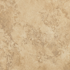 Tarkett Permastone 15-Piece 16-in x 16-in Sundance Glue (Adhesive) Travertine Luxury Commercial Vinyl Tile