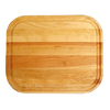Catskill Craftsmen 20-in L x 16-in W Wood Cutting Board