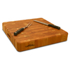 Catskill Craftsmen 18-in L x 18-in W Wood Cutting Board