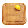 Catskill Craftsmen 12-in L x 12-in W Wood Cutting Board