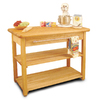 Catskill Craftsmen 24-in L x 48-in W x 36-in H Northeastern Hardwood/Oiled Kitchen Island