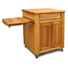 Catskill Craftsmen 26-in L x 47-in W x 36-in H Natural Birch with Oiled Finish Kitchen Island