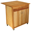 Catskill Craftsmen 33-1/2-in L x 27-1/2-in W x 34-1/2-in H Natural Kitchen Island