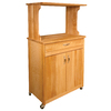 Catskill Craftsmen 31-1/8-in L x 17-in W x 53-in H Natural Kitchen Island