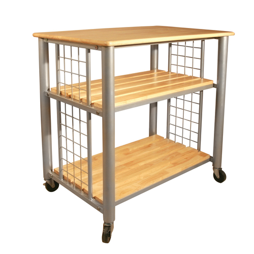 Contemporary Catskill Craftsmen Rugged Kitchen Trolley