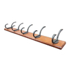 Zinc Alloy and MDF Garment Hook