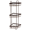 Style Selections 25.51-in H Steel Floor Freestanding Shower Caddy