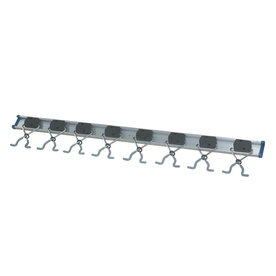 Blue Hawk Anodized Steel Storage Rail System