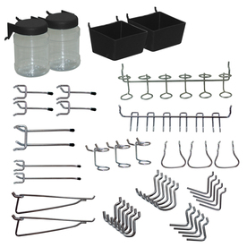 Blue Hawk Metal Pegboard Organizer Kit
