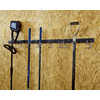 Blue Hawk 36-Piece Black Steel Storage Rail System