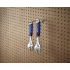 Blue Hawk Steel Single Arm Pegboard Hook
