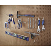 Blue Hawk 20-Pack 0.25-in Chrome Steel Multipurpose Hooks
