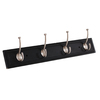 Style Selections Zinc Alloy Hook and MDF Rail Garment Hook