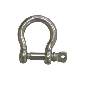 Blue Hawk 3/16-in Stainless Steel Bow Shackle