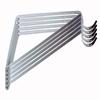 Style Selections Steel 12.8-in x 0.94-in White Shelf Bracket