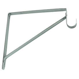 Style Selections Steel 0.98-in W x 10.71-in L x 12.66-in D Chrome Shelf Bracket