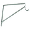 Style Selections Chrome Shelf and Closet Rod Bracket