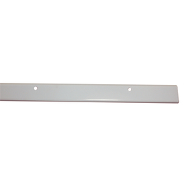 Style Selections 40-in White Rectangular Shelf Hang Track