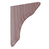"9""W x 11""L Paint Grade Pine Shelf Bracket"