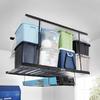 Kobalt 64.3-in W x 50.5-in D Black Steel Overhead Garage Storage
