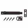 Gatehouse 4-in Oil-Rubbed Bronze Slide Bolt Entry Door Chain Guard