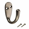 Gatehouse Satin Nickel Robe Hook