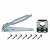 Gatehouse 3&#034; Zinc Plated Hinged Hasp with Screws