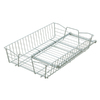 Style Selections 13.78-in W x 20-in D x 5.51-in H 1-Tier Metal Pull Out Cabinet Basket