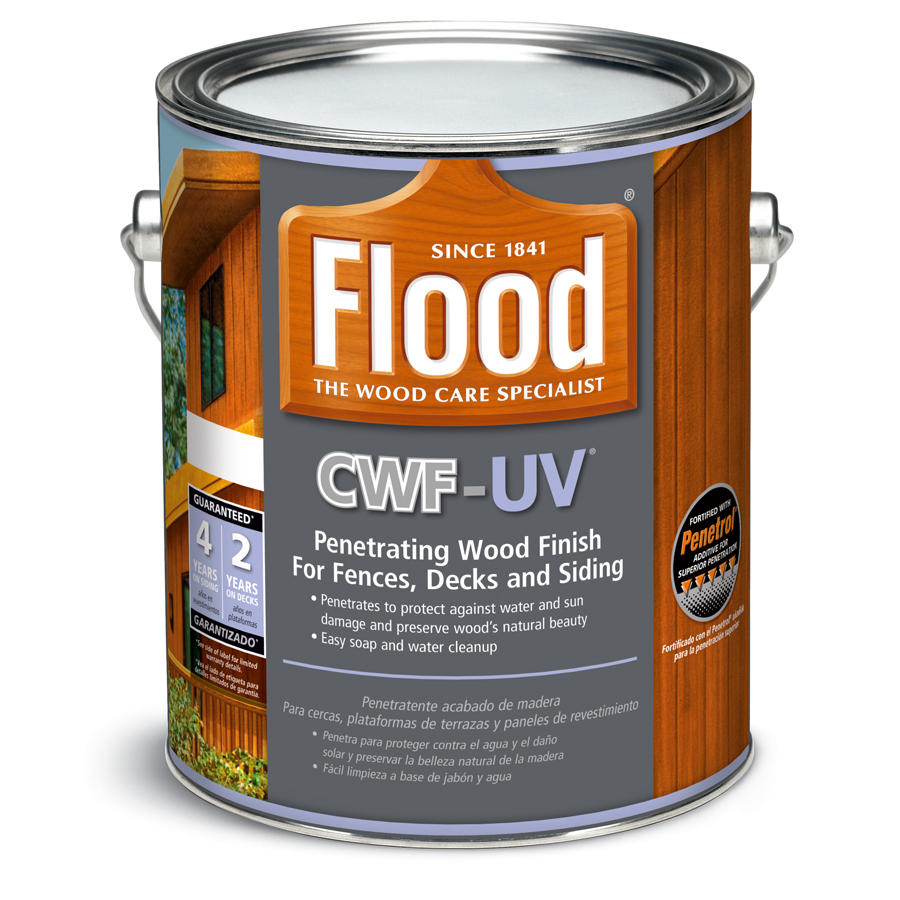 enlarged image ForExterior Wood Stain Flood