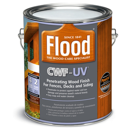 Shop Flood CWF UV Clear Clear Exterior Stain Actual Net Contents 128 Fl Oz