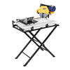 Q.E.P. 10-in 2 Wet Bridge Sliding Table Tile Saw with Stand