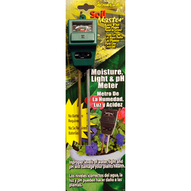 Mosser Lee Soil Master Moisture Light and PH Meter