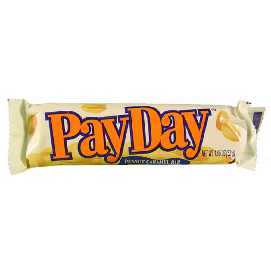 Payday Candy Payday candy bar at lowes.