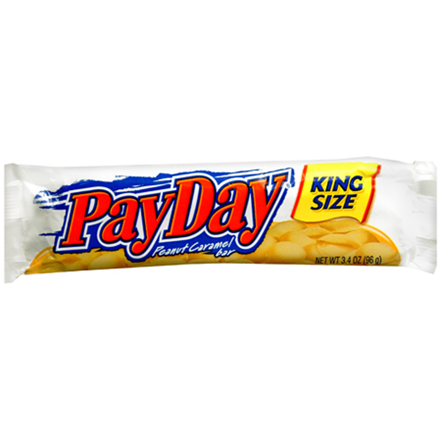 Payday Candy Bar King size payday candy bar