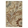 Style Selections Beige Rectangular Indoor Tufted Throw Rug (Common: 2 x 3; Actual: 24-in W x 40-in L)
