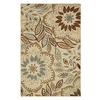 Style Selections Beige Rectangular Indoor Tufted Area Rug (Common: 5 x 8; Actual: 60-in W x 96-in L)