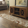 Style Selections Beige Rectangular Indoor Tufted Area Rug (Common: 8 x 10; Actual: 90-in W x 120-in L)