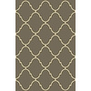 allen + roth Mocha Rectangular Indoor Tufted Throw Rug (Common: 3 x 4; Actual: 30-in W x 46-in L)
