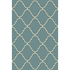 allen + roth Blue Rectangular Indoor Tufted Throw Rug (Common: 3 x 4; Actual: 30-in W x 46-in L)