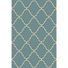allen + roth Blue Rectangular Indoor Tufted Throw Rug (Common: 3 x 4; Actual: 30-in W x 46-in L)