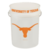 WinCraft Sports University of Texas 5-Gallon Plastic Bucket
