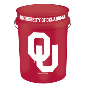 WinCraft Sports University of Oklahoma 5-Gallon Plastic Bucket