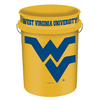 WinCraft Sports West Virginia 5-Gallon Plastic Bucket